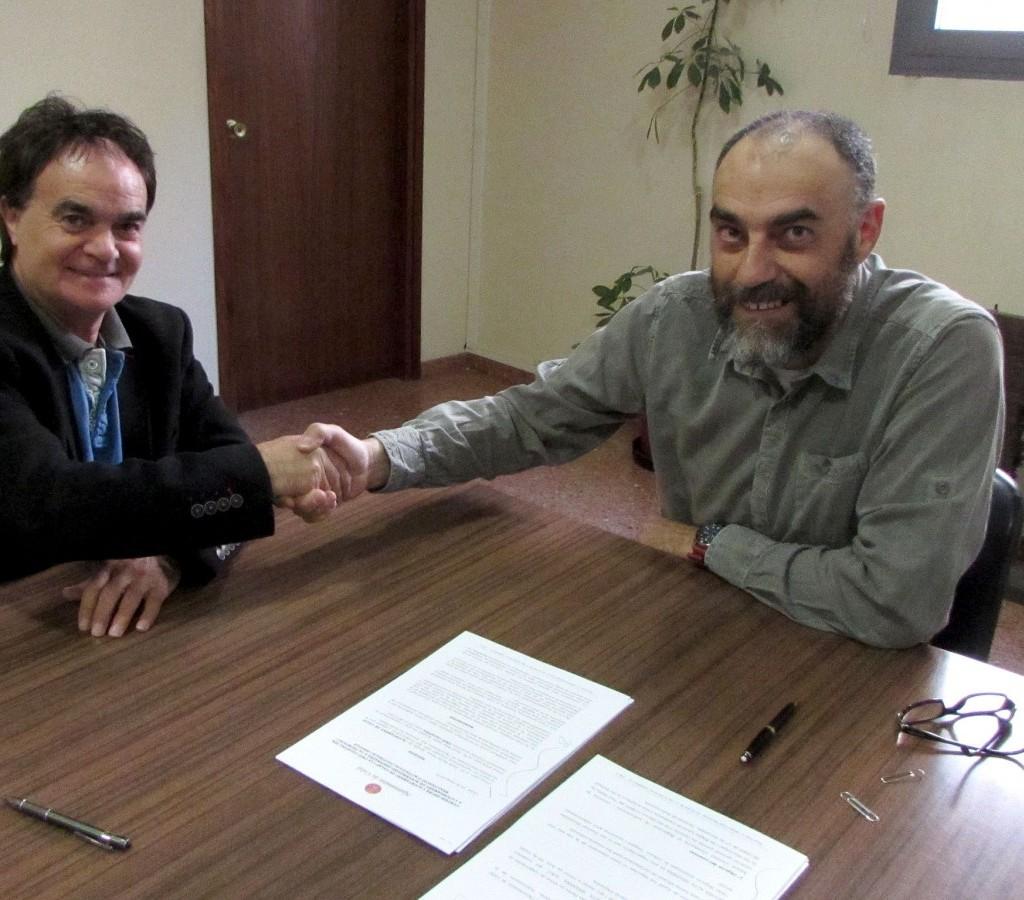 Es firma un conveni de col laboraci entre l ajuntament i for Conveni col lectiu d oficines i despatxos