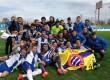 El calafí Carles Soria es proclama campió de lliga amb el Juvenil A de l'Espanyol