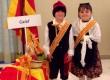 En Joan i la Vinyet respresenten Calaf al FirAnoia com a hereuet i pubilleta