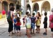 Petits i grans van participar de la festa del Nucli Antic de Calaf
