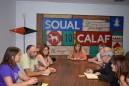 El conseller Josep Bargalló visita Calaf