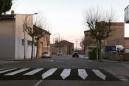 Finalitzen les obres de millora dels passos de vianants al carrer Pius Forn de Calaf