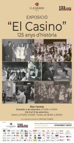 Exposició 'El Casino, 125 anys d'història' - El Casino de Calaf