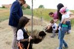 200 persones participen a la festa de l'Arrela't a Calaf per donar la benvinguda als nadons