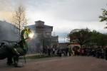 Els calafins omplen places i carrers per celebrar Sant Jordi