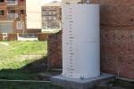 Un nou dipòsit d'aigua, primer pas per posar en funcionament aquest 2017 el projecte dels horts urbans
