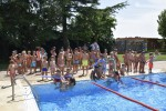 Finalitzen els cursets de natació de Calaf d'aquest 2018