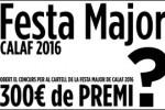 Concurs de cartells per a la Festa Major de Calaf 2016