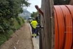 Arriba al tram de Calaf el desplegament de la fibra òptica a la xarxa de carreteres de la Diputació de Barcelona