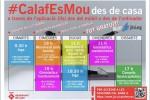 El projecte #calafesmou proposa classes esportives i xerrades de salut diàries en línia