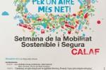 Calaf s'uneix a la Setmana de la Mobilitat Sostenible i Segura 2017