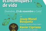 L'economista Josep Manel Busqueta i Xavier Cipriano, de la cooperativa d'habitatge Cal Cases, parlaran d'alternatives a Calaf