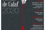 Obert el termini de presentació d'obres als Jocs Florals de Calaf de 2020
