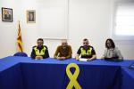 Presa de possessió dels nous vigilants municipals de Calaf