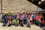 Unes quaranta persones segueixen les passes de Pedrolo en una ruta pels Plans de Sió