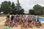 Exhibició final dels cursets de natació del 2019
