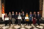 Calaf rep de la mà del president de la Generalitat el guardó a la innovació turística 2018 pel projecte de 'Les botigues antigues'