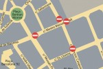 Talls de carrers i trànsit per Festa Major