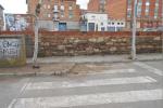 Comencen les obres de millora dels passos de vianants al carrer Pius Forn de Calaf
