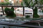 Una tempesta d'estiu deixa pluja intensa i pedra a Calaf