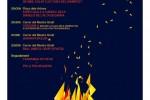 El foc i la música, protagonistes de la celebració de Sant Joan a Calaf