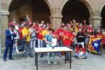 Vilatans i govern municipal coincideixen en reclamar l'exercici del dret a decidir en l'acte institucional de l'11 de setembre a Calaf