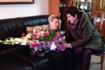 El consistori felicita Anna Roca Bars pel seu 102è aniversari