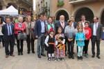 El president de la Diputació va inaugurar la Fira de Tots Sants de Calaf