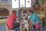 Futurs pares i alumnes de la Llar d'Infants van conèixer el centre aquest dissabte