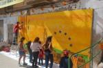 """""""Catalunya 1714/2014"""", nou mural a Calaf"""