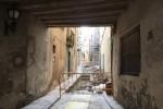 Avancen els treballs de reurbanització del carrer del Carme