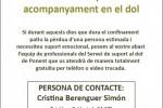 L'Ajuntament promou un servei d'atenció en el dol per a famílies afectades per la COVID-19