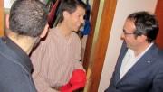 El conseller Josep Rull visita Calaf i gaudeix dels Pastorets