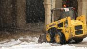 La nevada a Calaf registra gruixos de fins a 15 centímetres