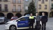 Els vigilants municipals estrenen un cotxe 100% elèctric