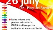 Calaf celebra el dia per l'alliberament LGTBI