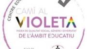 """L'Escola Alta Segarra i l'Institut Alexandre de Riquer obtenen el distintiu """"Camí al Violeta"""""""