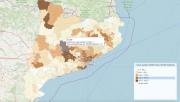 La Generalitat fa públiques les dades oficials del Covid-19 per municipis
