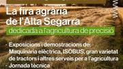 La fira Agro Alta Segarra de Calaf estarà dedicada a l'agricultura de precisió