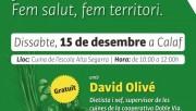 El dietista i xef David Olivé cursarà un taller de cuina ecològica i de proximitat a Calaf