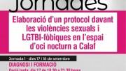 Participa en l'elaboració del protocol contra les violències masclistes de Calaf