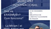 'Vola del niu', cicle de xerrades de mobilitat internacional a Calaf