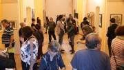 Una cinquantena de persones visiten l'exposició 'El sentiment de la urgència'