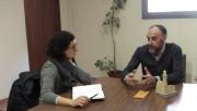 La portaveu i diputada de Junts pel Sí visita Calaf