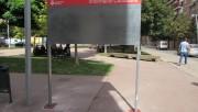 Ja estan instal·lades les cartelleres municipals