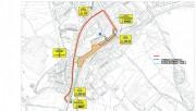 Iniciada la primera fase de les obres per transformar en un passeig la carretera de Manresa