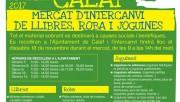 Calaf organitzarà un mercat d'intercanvi de llibres, roba i joguines amb motiu de la Setmana Europea de la Prevenció de Residus