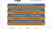 Pentakkordeon, El Diluvi, Moonshine Wagon i RIU, els plats forts de la 28a edició del DesFOLCa't