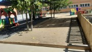 Finalitzen les darreres obres de millora del pati de la llar d'infants