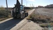Comencen les obres per reparar una part del camí del Pou